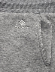 Gant - D1. GANT LOCK UP SWEAT SKIRT - korta kjolar - grey melange - 2