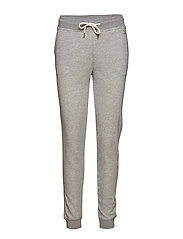 TONAL SHIELD SWEAT PANTS - GREY MELANGE