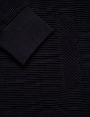 GANT - D1. JERSEY STRUCTURE JACKET - sweatshirts - evening blue - 3