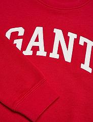 GANT - ARCH LOGO C-NECK SWEAT - sweatshirts - bright red - 2