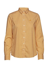 THE BROADCLOTH GINGHAM SHIRT - IVY GOLD