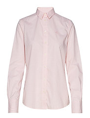THE BROADCLOTH GINGHAM SHIRT - PREPPY PINK