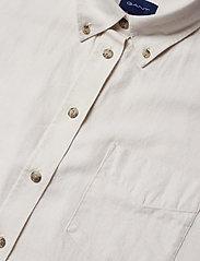 Gant - D2.WINTER FADED FLANNEL EXB SHIRT - pitkähihaiset paidat - putty - 2