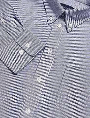 GANT - PPO OXF STRIPE RELAXED SHIRT - long-sleeved shirts - crisp blue - 2
