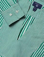 GANT - O1. PREPPY STRIPED POPOVER SHIRT - long sleeved blouses - emerald green - 2