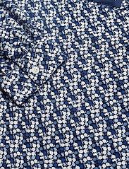 Gant - D1. AUTUMN PRINT VISCOSE BLOUSE - pitkähihaiset puserot - crisp blue - 2