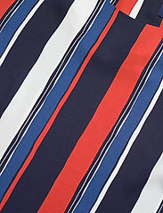 Gant - D1. PREPPY STRIPE RELAXED TOP - pitkähihaiset puserot - vintage blue - 2
