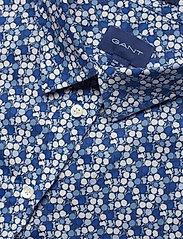 Gant - D1. AUTUMN PRINT STRETCH BC SHIRT - pitkähihaiset paidat - crisp blue - 2