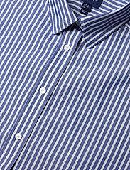 Gant - D1. TP BC STRIPED OVERSIZED SHIRT - pitkähihaiset paidat - college blue - 2