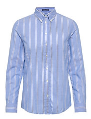 D1. TP STRIPED OXORD BD SHIRT - PACIFIC BLUE