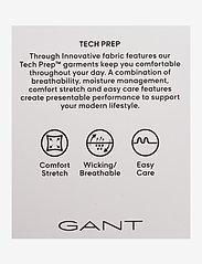 GANT - D1. TP SMOCK SLEEVE CHECK SHIRT - long-sleeved shirts - crisp blue - 2