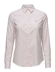 STRETCH OXFORD BANKER SHIRT - LIGHT PINK