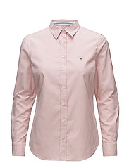 STRETCH OXFORD BANKER - STRONG CORAL