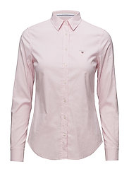 STRETCH OXFORD SOLID SLIM SHIRT - LIGHT PINK