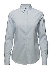 OP2. TP STRIPED JASPÉ SHIRT - PACIFIC BLUE