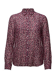 O1. AUTUMN FLORAL BLOUSE SMU
