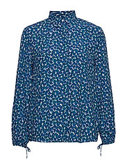 D1. DESERT ROSE VISCOSE SHIRT - DARK TEAL
