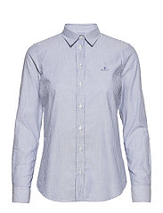 THE OXFORD BANKER SLIM SHIRT - NAUTICAL BLUE