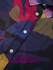 GANT - D1. SPLENDID FLORAL COT SILK SHIRT - long-sleeved shirts - multicolor - 2