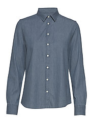 D1. LUXURY CHAMBRAY - LIGHT BLUE