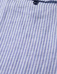 Gant - D2. LINEN STRIPE TOP - blouses à manches longues - pacific blue - 2