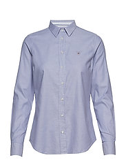 STRETCH OXFORD SOLID - DUSTY PURPLE