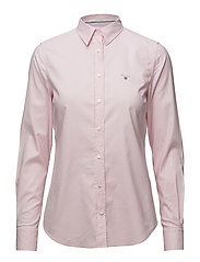 STRETCH OXFORD SOLID - LIGHT PINK