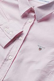 GANT - STRETCH OXFORD SOLID - long-sleeved shirts - light pink - 2