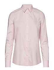 SOLID STRETCH BROADCLOTH SHIRT - BLOSSOM