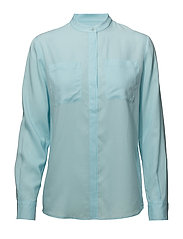 G. TENCEL BLOUSE - GLOW BLUE