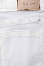 GANT - D1. WHITE DENIM SKIRT - denimskjørt - white - 4