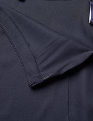 GANT - D1. TWILL WRAP MIDI SKIRT - midi skirts - evening blue - 3