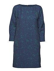 O1.PRINTED SEPTEMBER DRESS