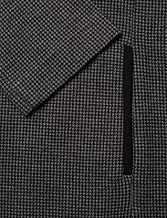 Gant - D1. DOGTOOTH JERSEY CL SHIFT DRESS - midimekot - dark grey melange - 3