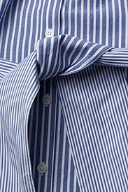 Gant - O1. PREPPY STRIPED SHIRT DRESS - paitamekot - college blue - 3