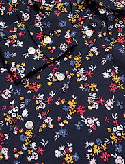 Gant - D1. SCRIBBLED FLORAL SHIRT DRESS - paitamekot - evening blue - 2