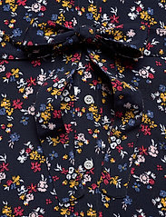Gant - D1. SCRIBBLED FLORAL SHIRT DRESS - paitamekot - evening blue - 3