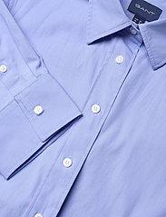 Gant - D2. MAXI SHIRT DRESS - shirt dresses - lavender blue - 2