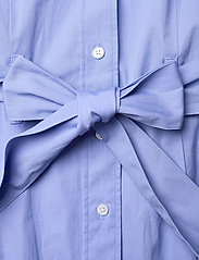 Gant - D2. MAXI SHIRT DRESS - shirt dresses - lavender blue - 3