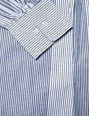 GANT - D1. MIX STRIPE KAFTAN DRESS - shirt dresses - blue bell - 7