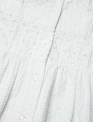 GANT - D1. BRODERIE ANGLAISE MAXI DRESS - midi dresses - white - 3