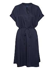 D1. FLUID DRESS - EVENING BLUE