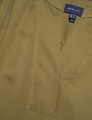 GANT - D1. FLUID DRESS - midi dresses - olive green - 2