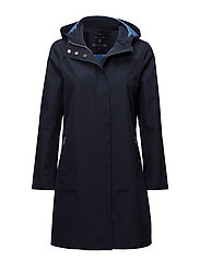 O1. ALL WEATHER PARKA - EVENING BLUE