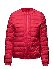 O1. LIGHT WEIGHT DOWN BLOUSON - ROSE RED