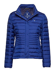 O1. LIGHT DOWN JACKET - COLLEGE BLUE