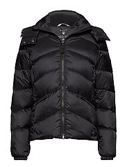 O2. CLASSIC DOWN JACKET - BLACK