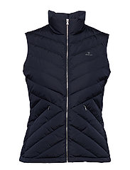 O1. LIGHT DOWN GILET - MARINE