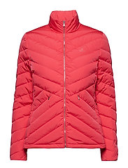 O1. LIGHT DOWN JACKET - WATERMELON RED