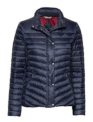 D1. LIGHT DOWN JACKET - MARINE